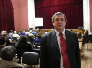 Василий Сенченко на фестивале целителей