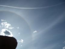 Кольцо вокруг Солнца