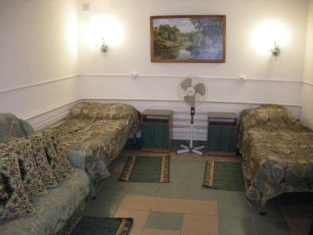 Комната, в которой я жил на Арабатской стрелке