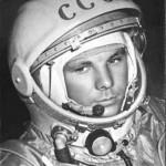 Юрий Гагарин первый в мире космонавт